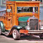 Very old Chevy truck in Freeport -front side by henuly1