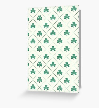 Shamrock On! Greeting Card