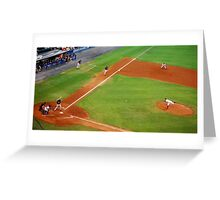 Pitching It In Greeting Card