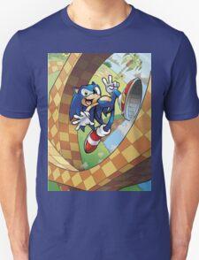 sonic on the run T-Shirt