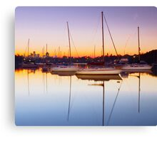 River Dawn Canvas Print