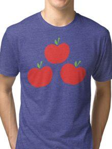 Applejack Cutie Mark Tri-blend T-Shirt
