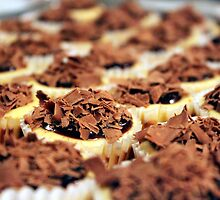 Mini Chocolate Cheesecakes by Chris Richards