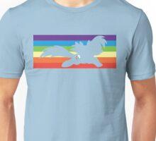 RBD rainbow sillhouette  Unisex T-Shirt