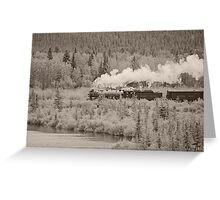 Old Steam Locomotive #2816 Greeting Card