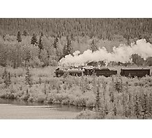 Old Steam Locomotive #2816 Photographic Print