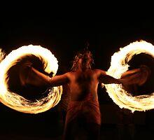 Fire Dancer, Fiji by J Forsyth