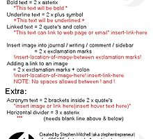 Coding your RedBubble Journal by Stephen Mitchell