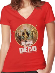 Justin Hamilton - Shine Of The Dead Shirt Women's Fitted V-Neck T-Shirt