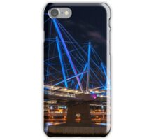 Kurilpa Bridge from Below iPhone Case/Skin