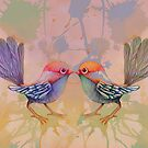little love birds pink by © Cassidy (Karin) Taylor