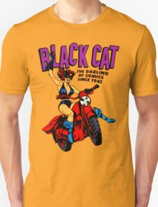 BLACK CAT is BACK T-Shirt
