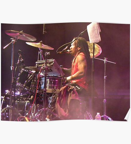 Purple Haze Drummer Poster