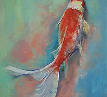 Pearl Banded Koi by Michael Creese