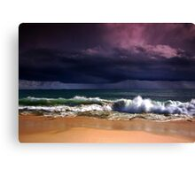 Thundering sky Canvas Print