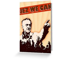 Jez We Can - Jeremy Corbyn Greeting Card