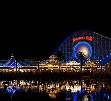 Paradise Pier  by Jessica Fredrikson