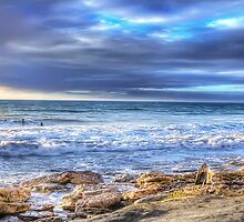 High Tide at Port Willunga by Shannon Rogers