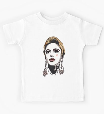 We Love You Edie t-shirt Kids Tee