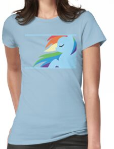 RBD silhouette Womens Fitted T-Shirt