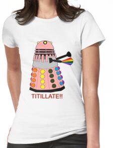 Dalek Pride Womens Fitted T-Shirt