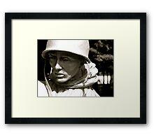 Soldier of Steel Framed Print