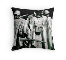 Searching in the Sun Throw Pillow