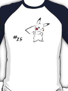 Pokemon 25 Pikachu T-Shirt