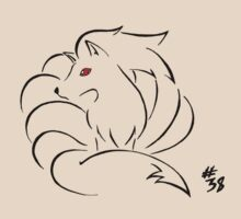 Pokemon 38 Ninetales by methuselah