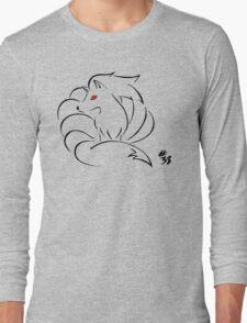 Pokemon 38 Ninetales Long Sleeve T-Shirt