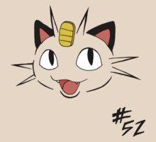 Pokemon 52 Meowth by methuselah