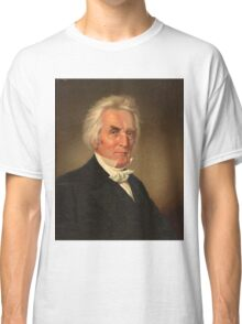Alexander Campbell head-and-shoulders portrait by J. Boglo (1837) Classic T-Shirt