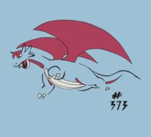Pokemon 373 Salamence Kids Tee