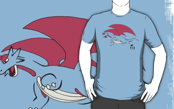 Pokemon 373 Salamence by methuselah