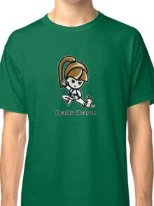 Martial Arts/Karate Girl - Deadly Weapon Classic T-Shirt