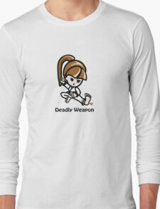 Martial Arts/Karate Girl - Deadly Weapon T-Shirt