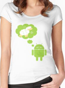 DROID Dreaming of an Electric Sheep Women's Fitted Scoop T-Shirt