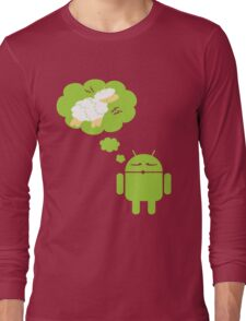 DROID Dreaming of an Electric Sheep Long Sleeve T-Shirt