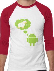 DROID Dreaming of an Electric Sheep Men's Baseball ¾ T-Shirt