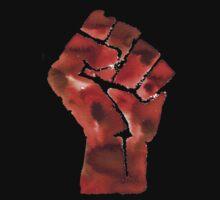 Black Power Fist by sadiesavesit