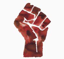 Black Power Fist Kids Tee