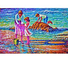 Sunday afternoon Shore study Photographic Print