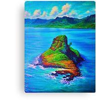 Mokoli'i Island (China Mans hat) Canvas Print