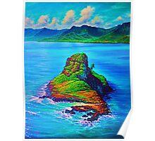 Mokoli'i Island (China Mans hat) Poster