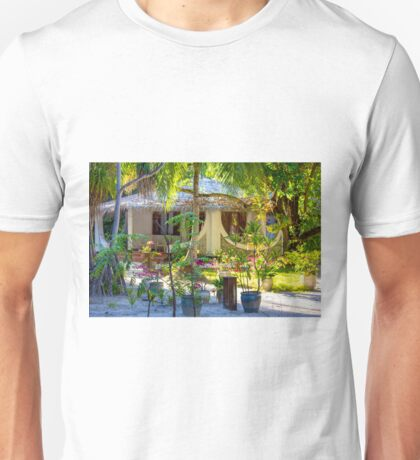 Vacation resort in the Maldives, Eden on Earth Unisex T-Shirt