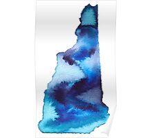New Hampshire Home State Poster