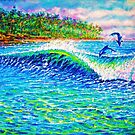 Dolphin Play by jyruff