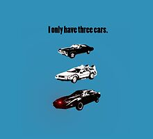 I Only Have Three Cars by jennyless