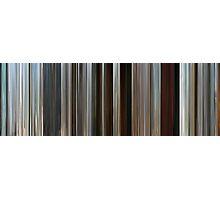 Moviebarcode: Rango (2011) Photographic Print