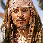 The notorious Captain Jack Sparrow, aka Johnny Depp. by Paulino Sensei